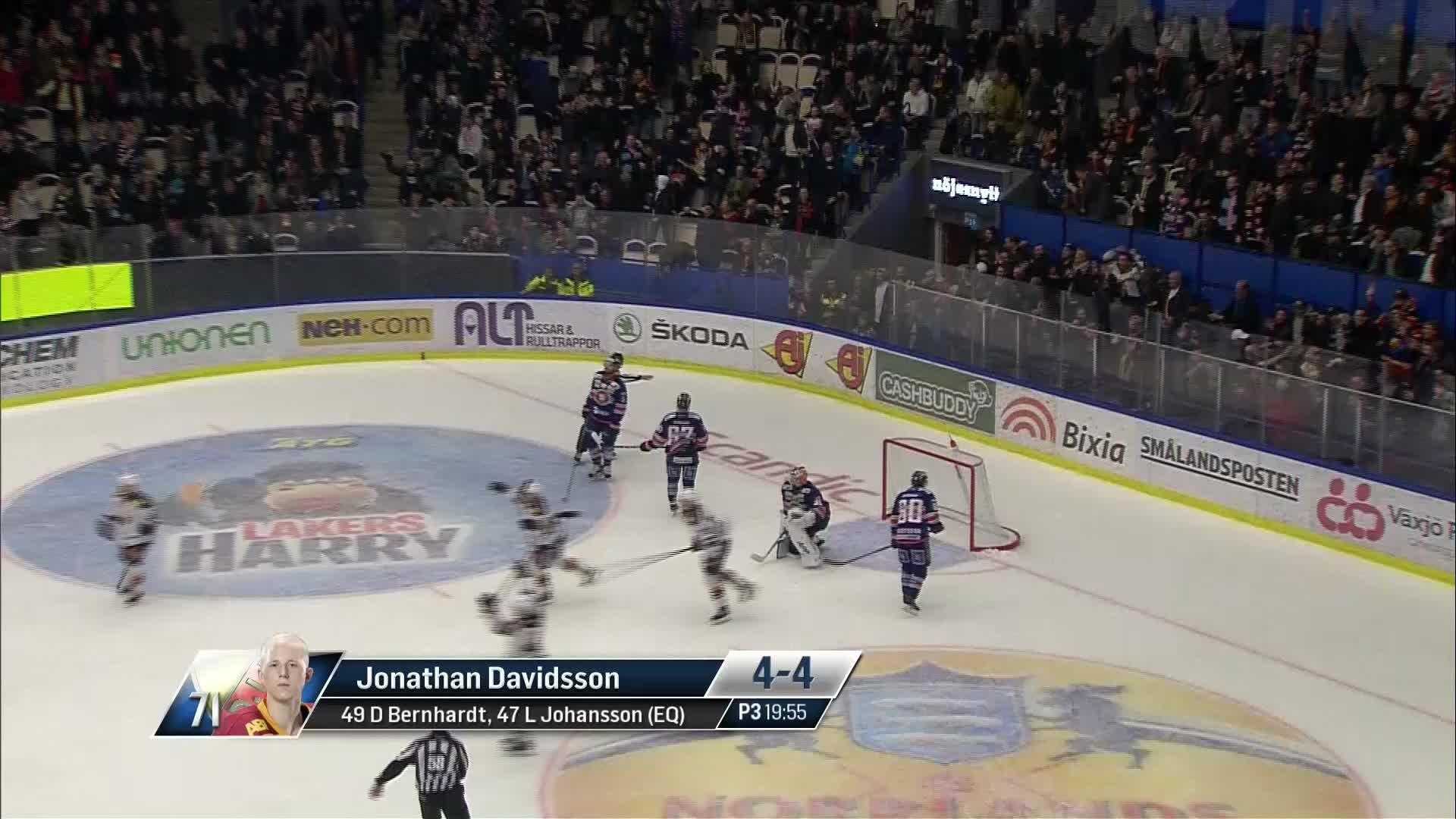 Växjö Lakers - Djurgården Hockey 4-4