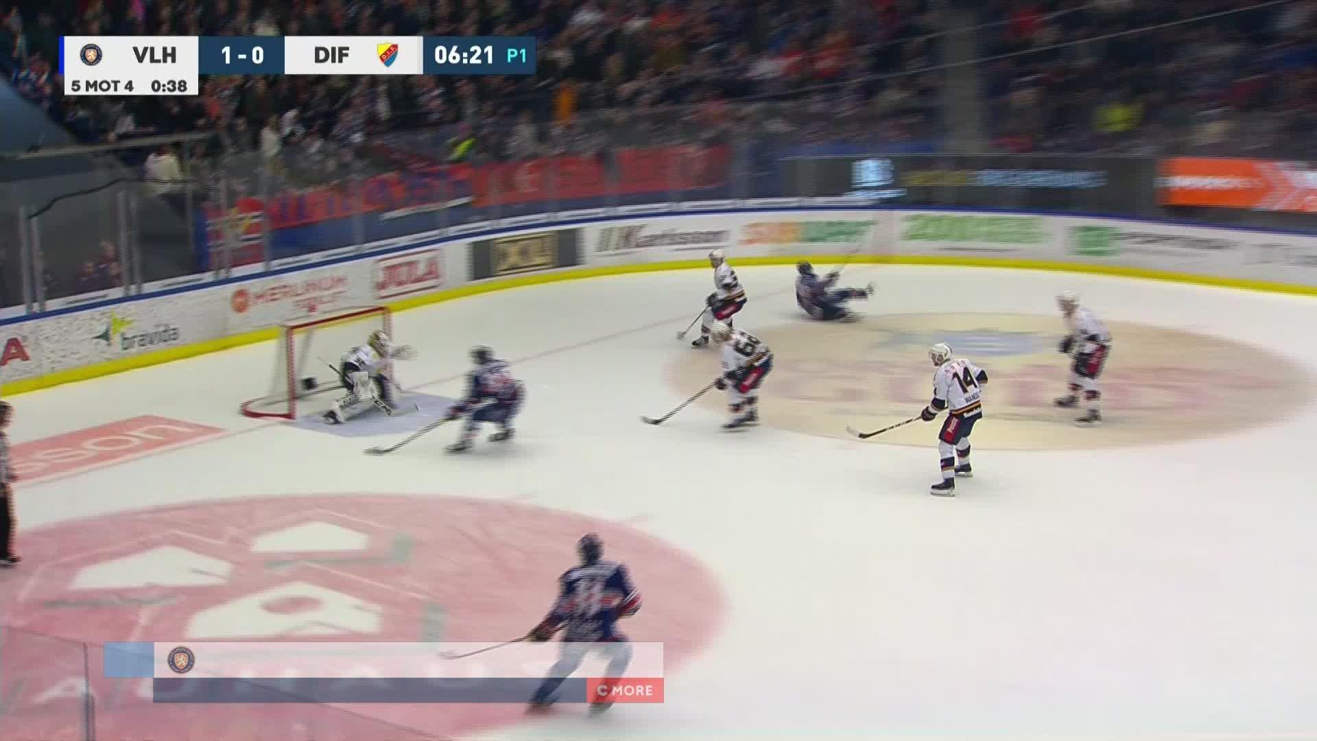 Växjö Lakers - Djurgården Hockey 2-0