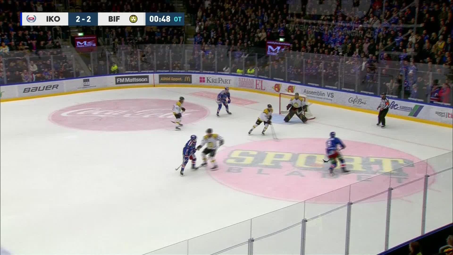 IK Oskarshamn - Brynäs IF 3-2