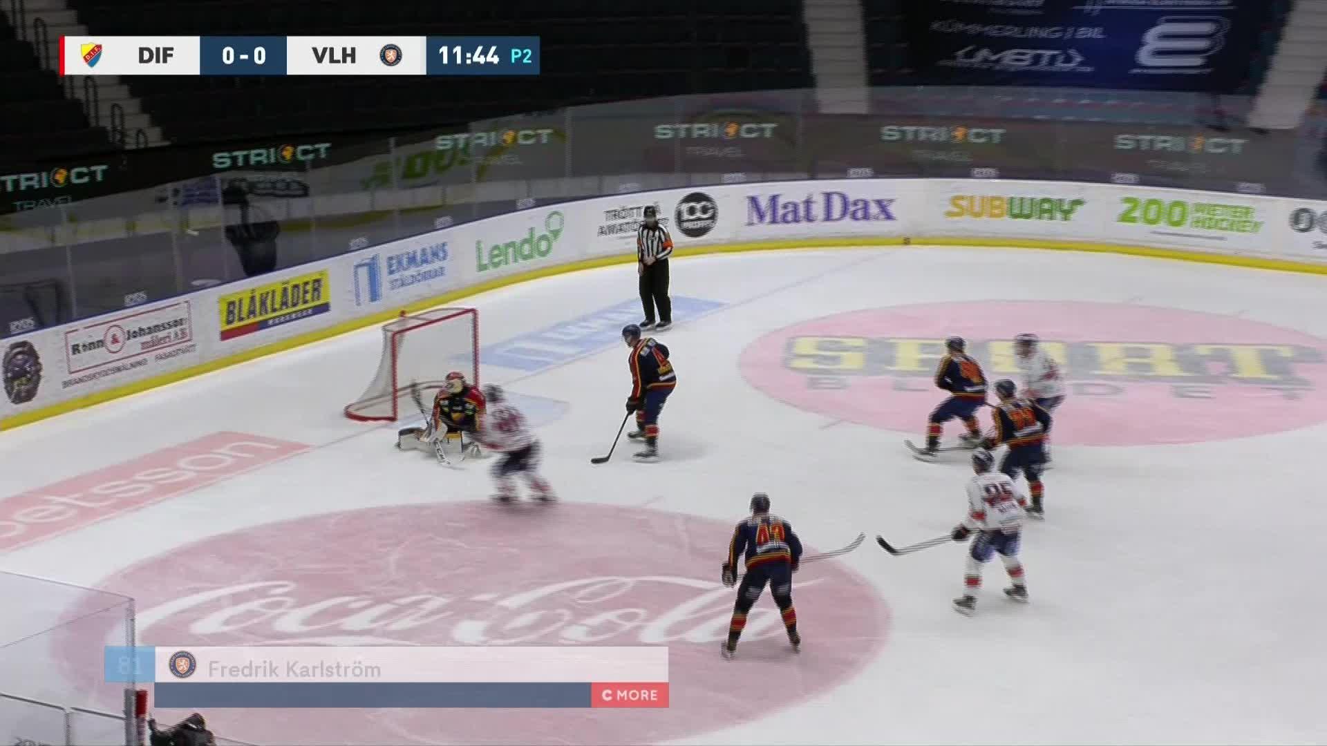 Djurgården Hockey - Växjö Lakers 0-1