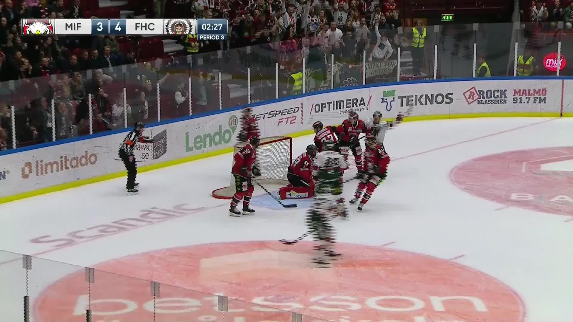Malmö Redhawks - Frölunda HC 3-5