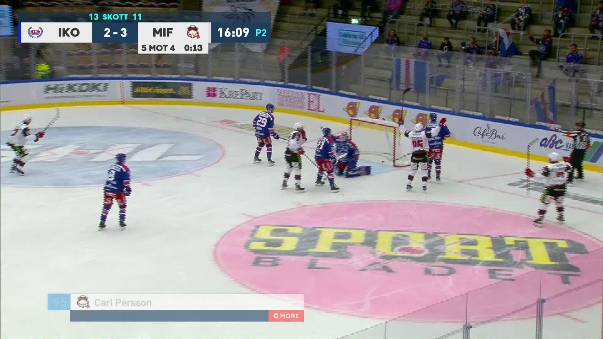IK Oskarshamn - Malmö Redhawks 2-4
