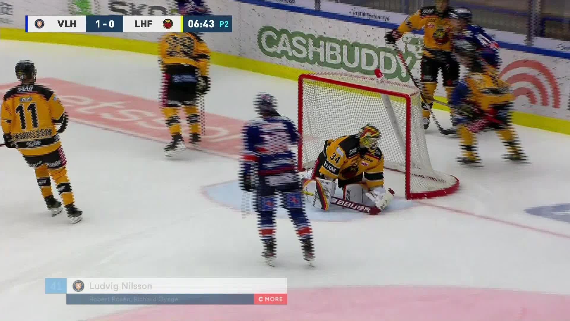 Växjö Lakers - Luleå Hockey 2-0