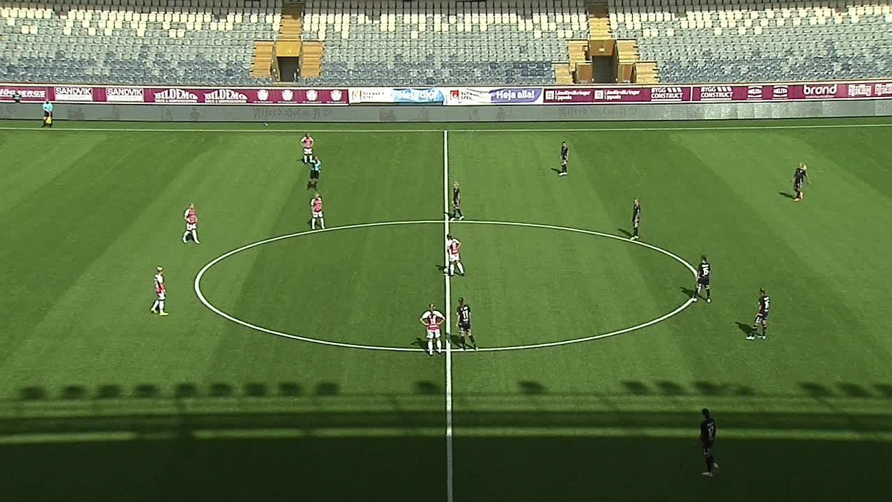 Highlights: Uppsala - Kopparbergs/Göteborg 25 juli
