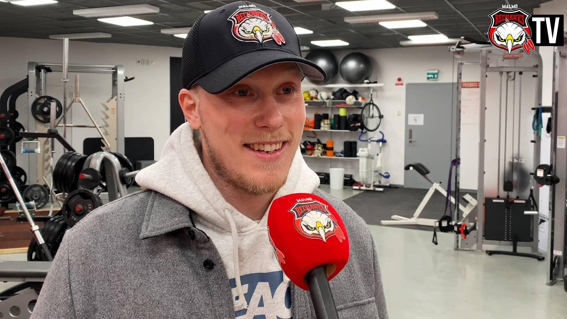 Kalle Östman på plats i Malmö