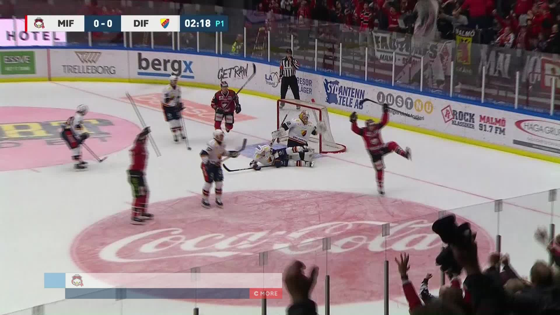 Malmö Redhawks - Djurgården Hockey 1-0