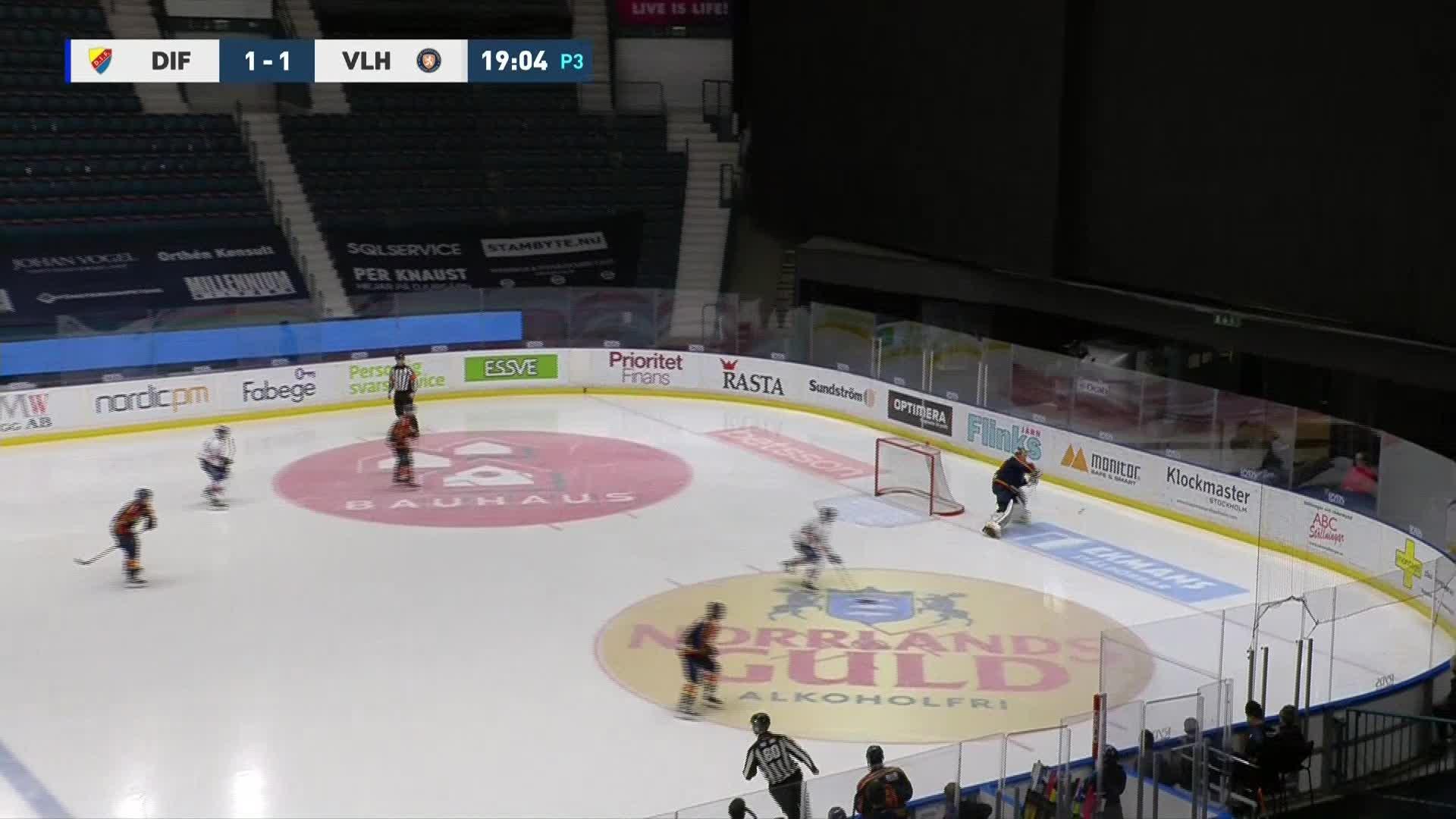 Djurgården Hockey - Växjö Lakers 1-2