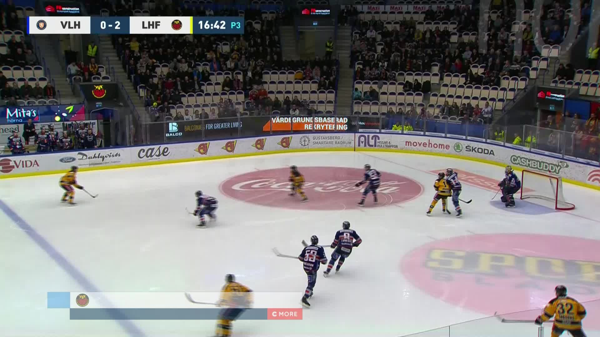 Växjö Lakers - Luleå Hockey 0-3
