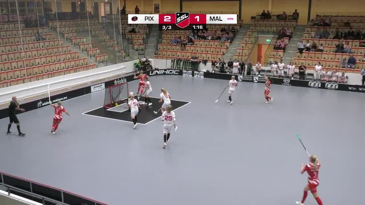 Highlights: Pixbo Wallenstam IBK-Malmö FBC