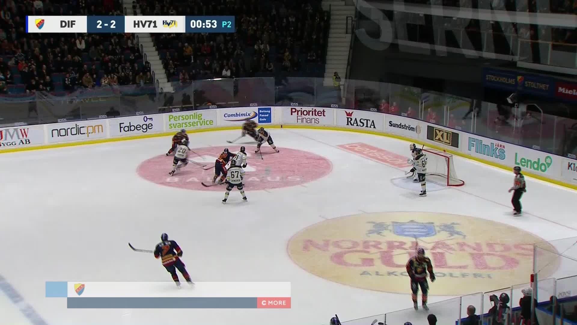 Djurgården Hockey - HV71 3-2