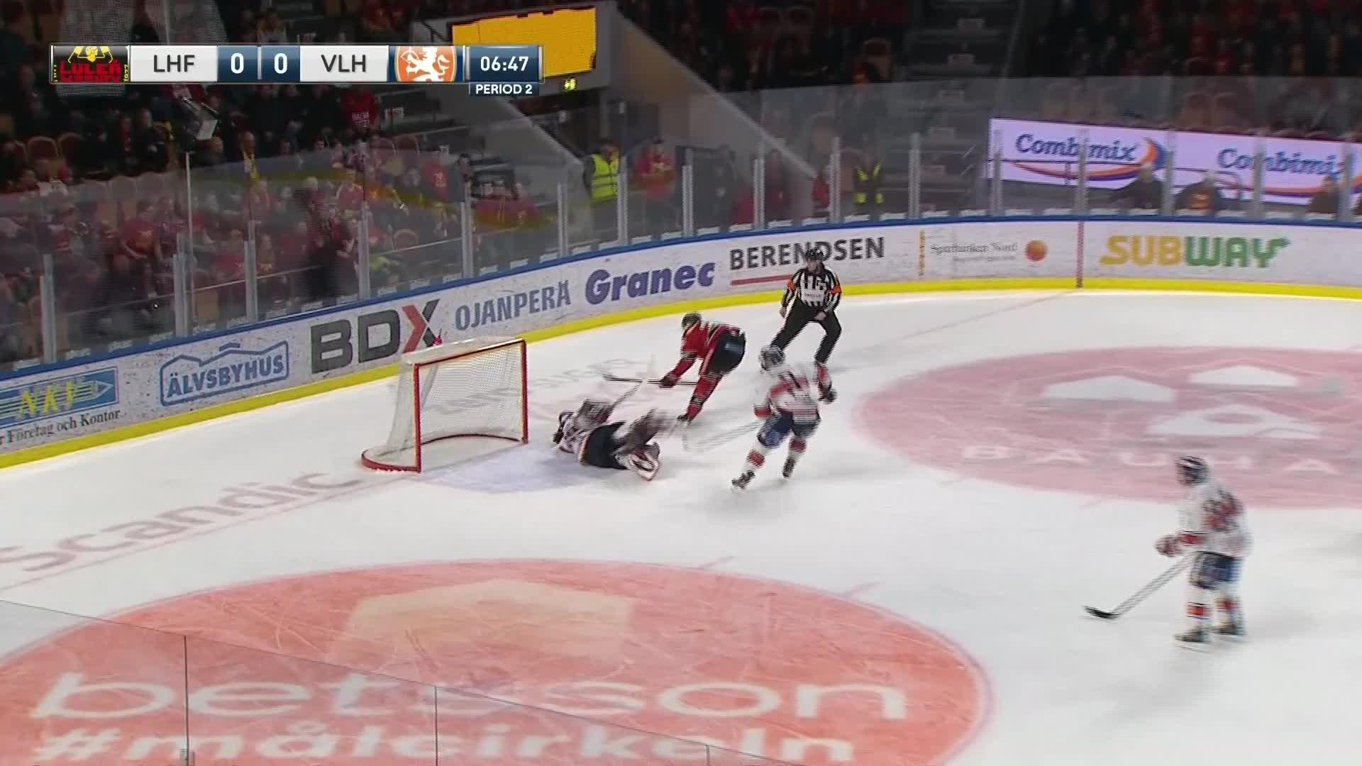 Luleå Hockey - Växjö Lakers 1-0