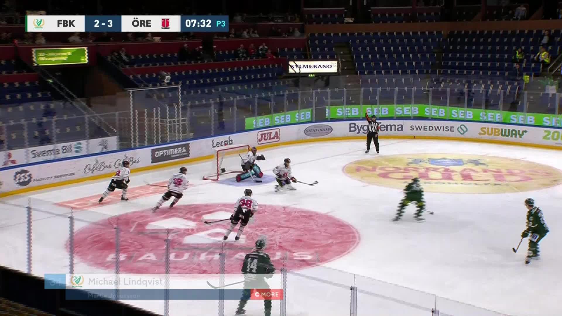 Färjestad BK - Örebro Hockey 3-3