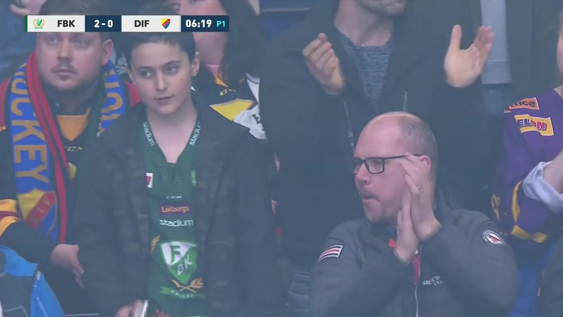 Färjestad BK - Djurgården Hockey 2-0