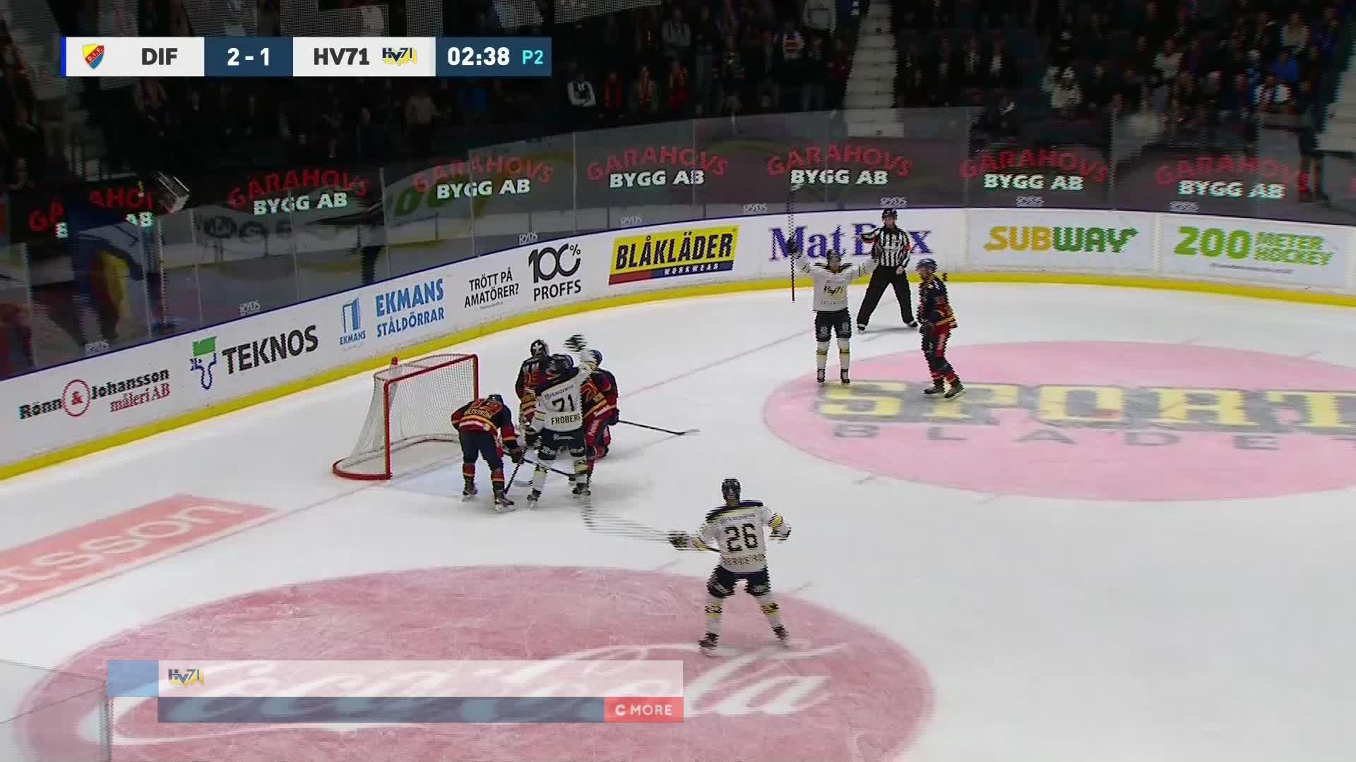 Djurgården Hockey - HV71 2-2
