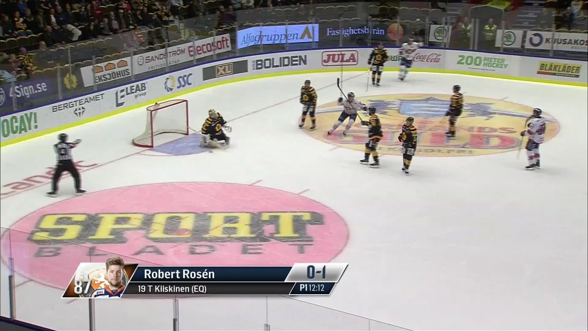 Skellefteå AIK - Växjö Lakers 0-1