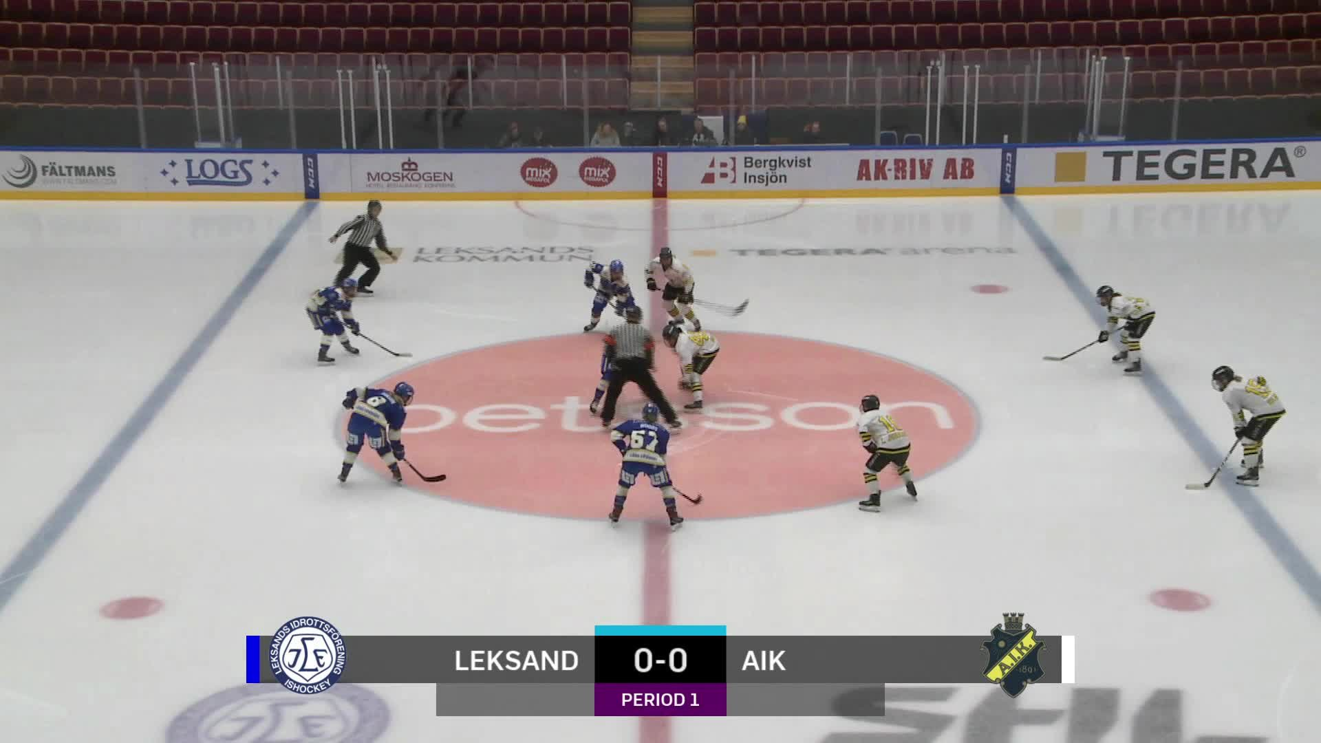 Highlights Leksand-AIK 24 november