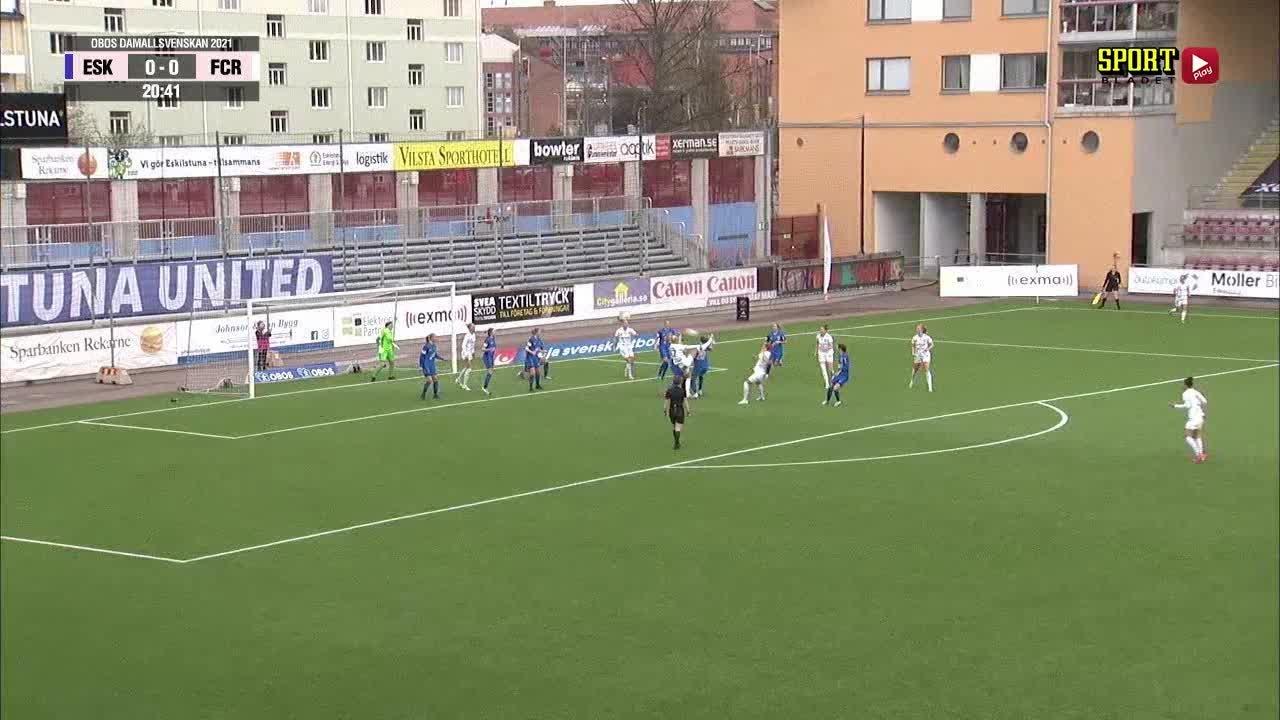 Highlights: Eskilstuna UNITED - FC Rosengård
