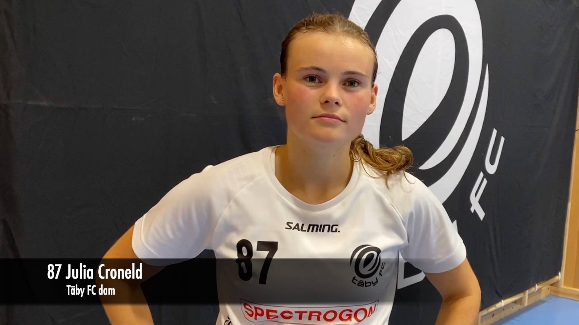 Julia Croneld efter Gävle-matchen