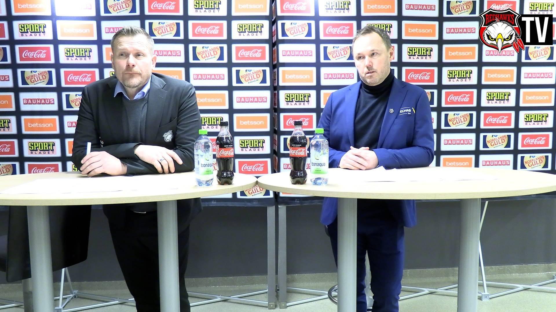 Presskonferens Malmö - Leksand