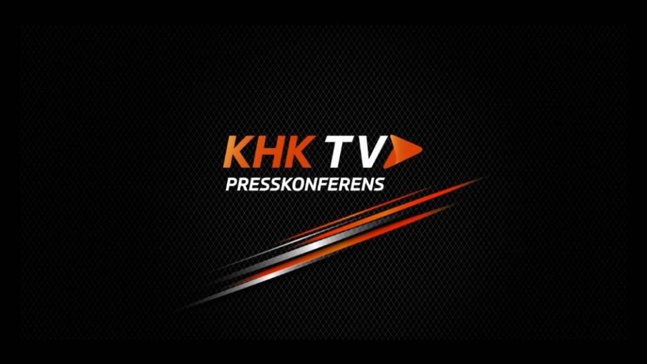 KHKTV: Presskonferens efter matchen mellan Karlskrona HK och Vita Hästen