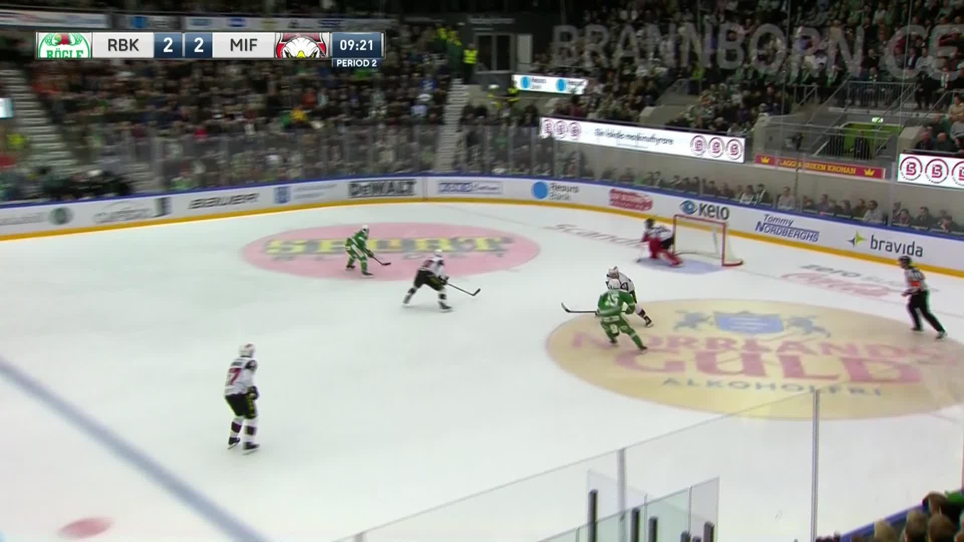 Rögle BK - Malmö Redhawks 3-2