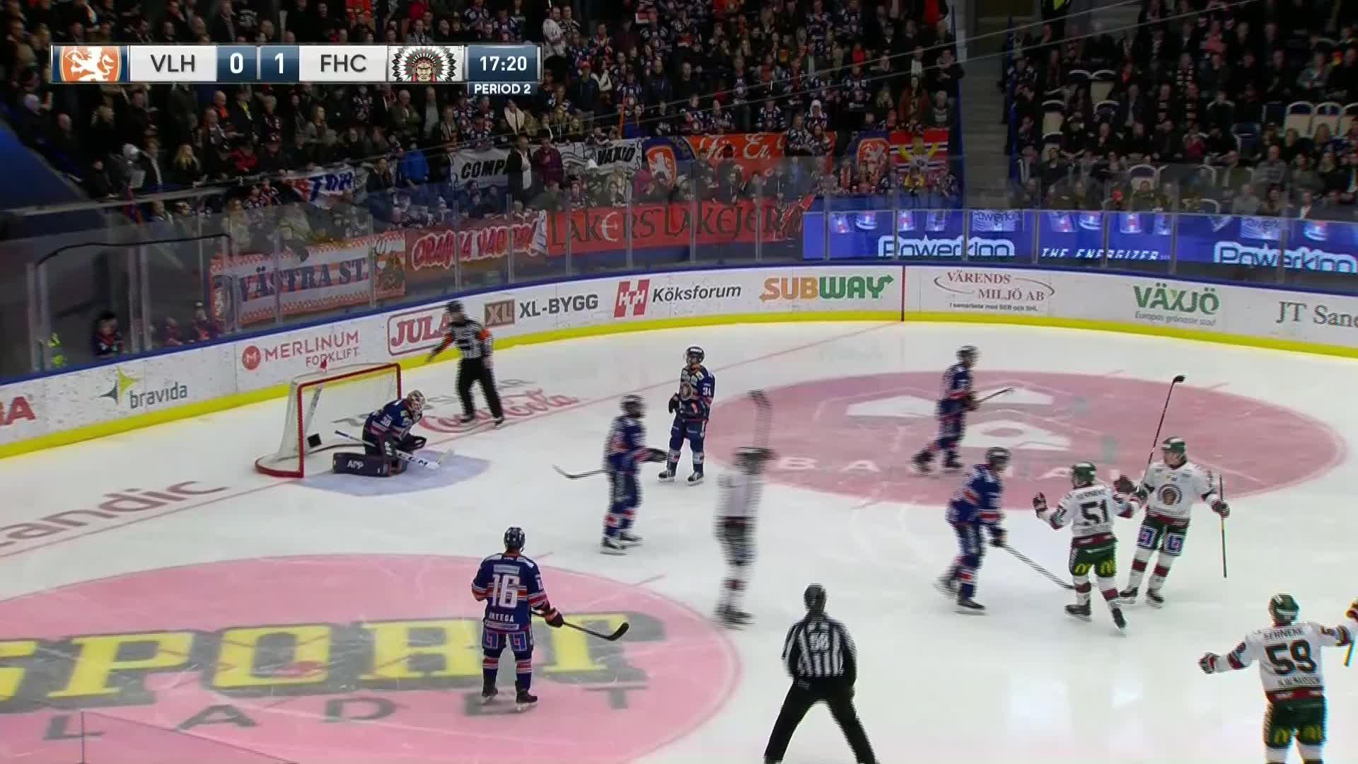 Växjö Lakers - Frölunda HC 0-2