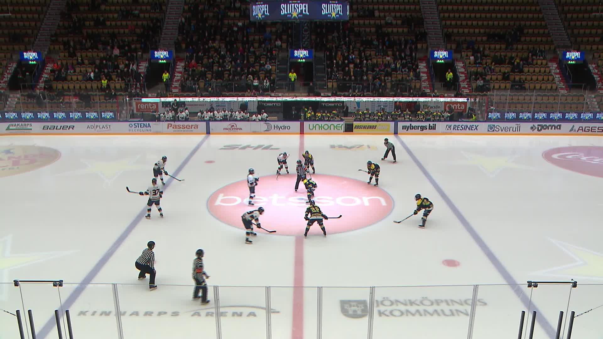 Highlights Semifinal 3:5: HV71-Djurgården 1 mars