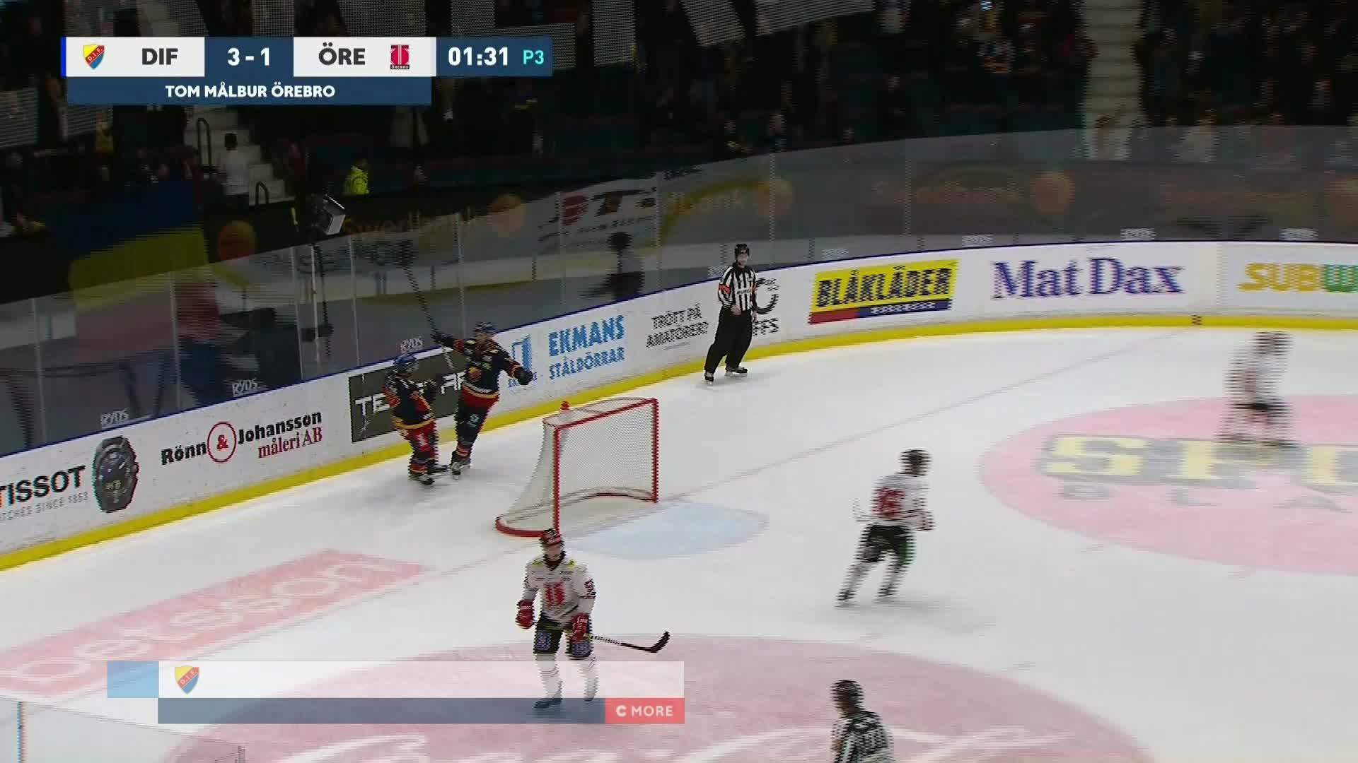 Djurgården Hockey - Örebro Hockey 3-1