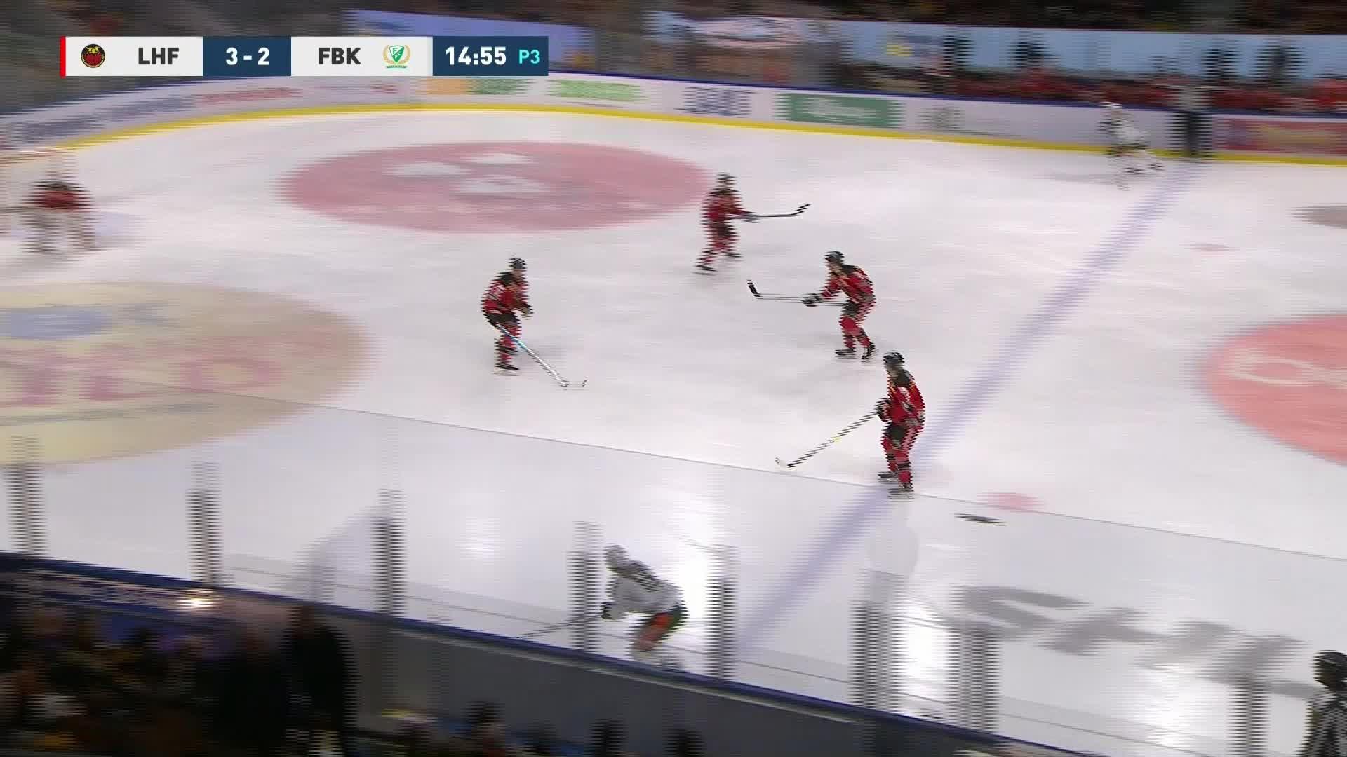 Luleå Hockey - Färjestad BK 3-3