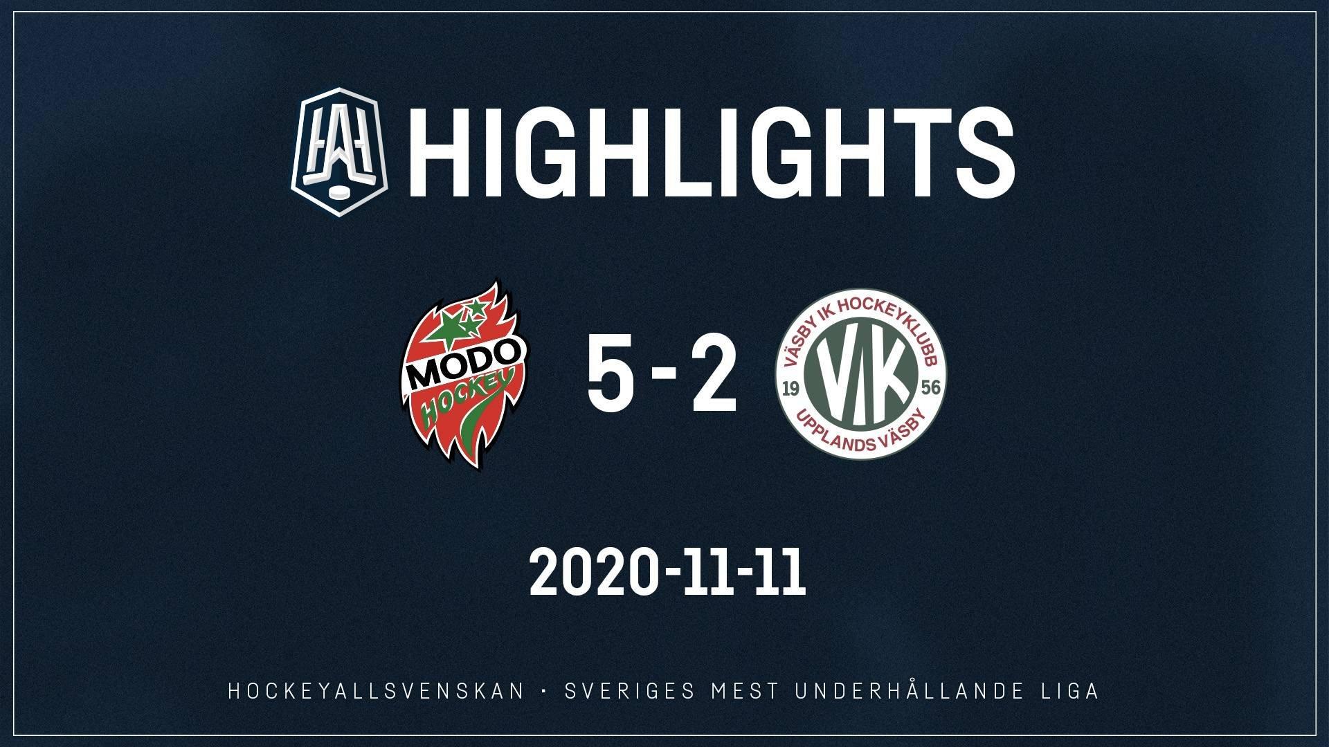 2020-11-11 MODO - Väsby 5-2