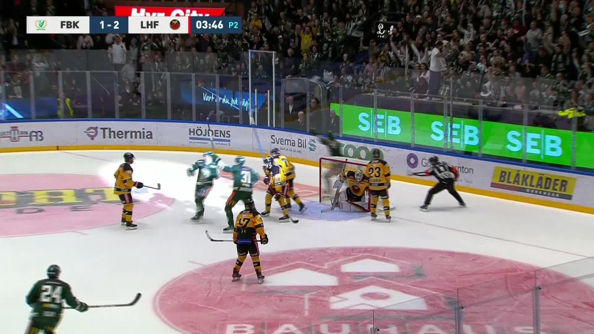 Färjestad BK - Luleå Hockey 2-2