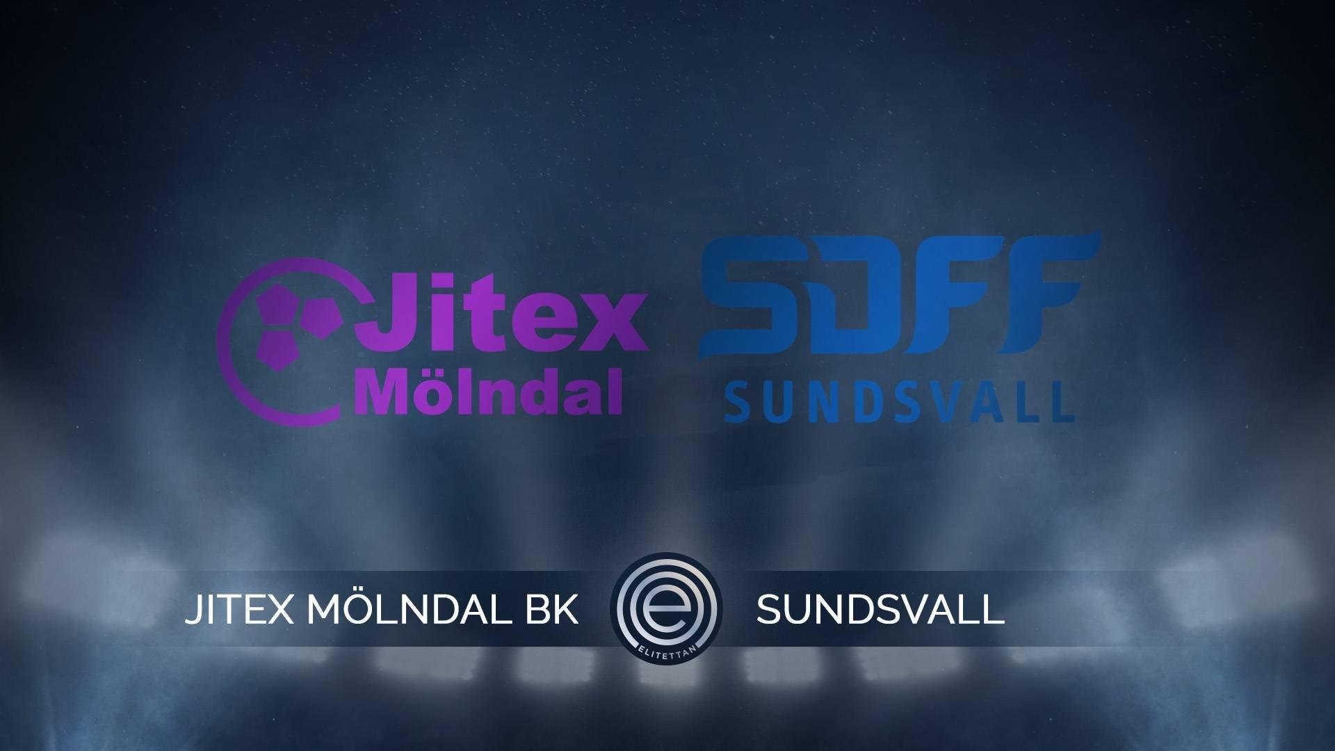 Highlights: Jitex Mölndal BK-Sundsvalls DFF