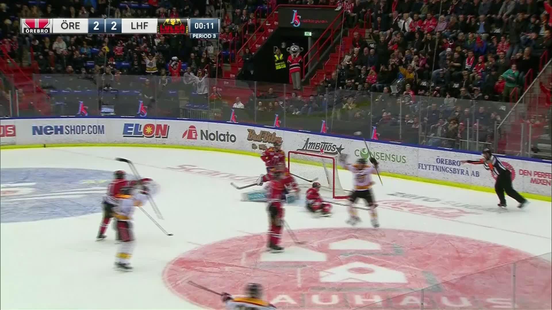 Örebro Hockey - Luleå Hockey 2-3