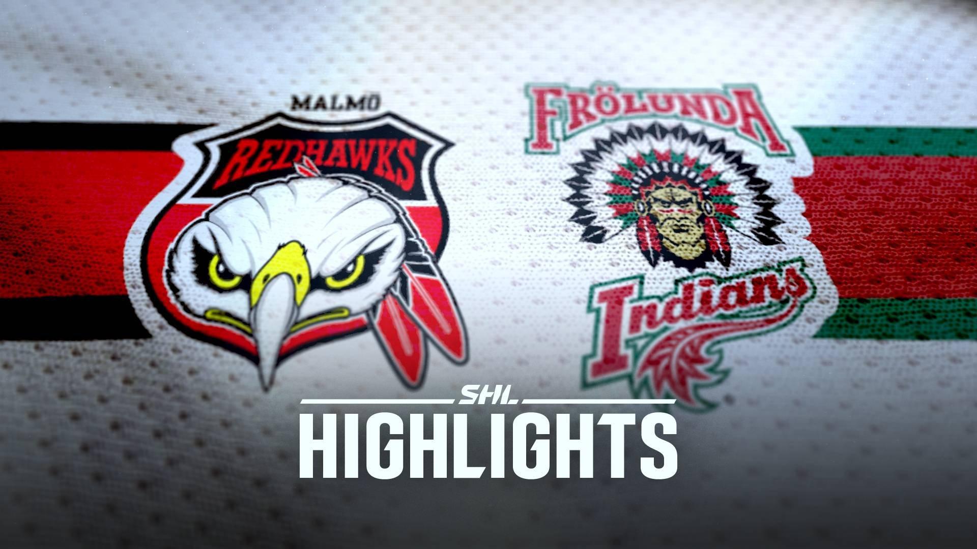 Malmö Redhawks - Frölunda HC