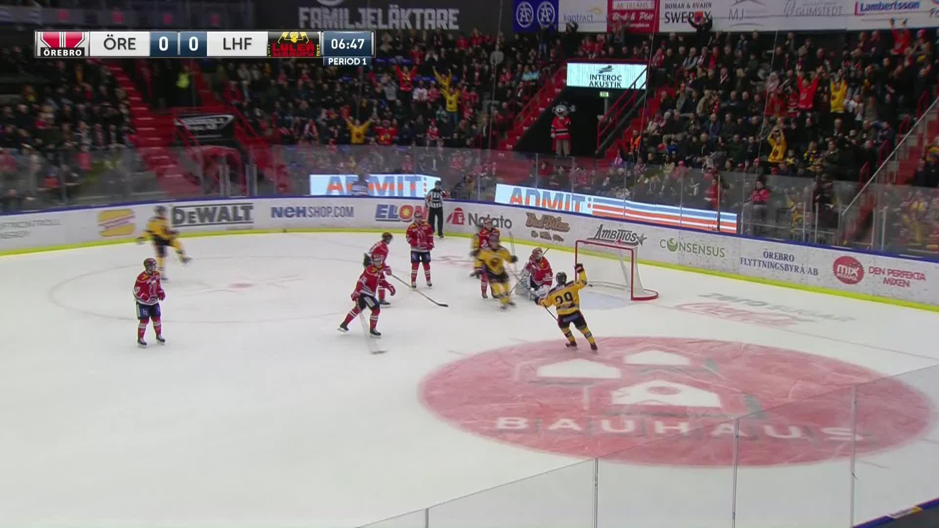 Örebro Hockey - Luleå Hockey 0-1