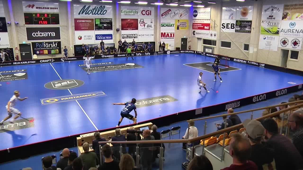 Highlights Karlstad IBF - Warberg IC