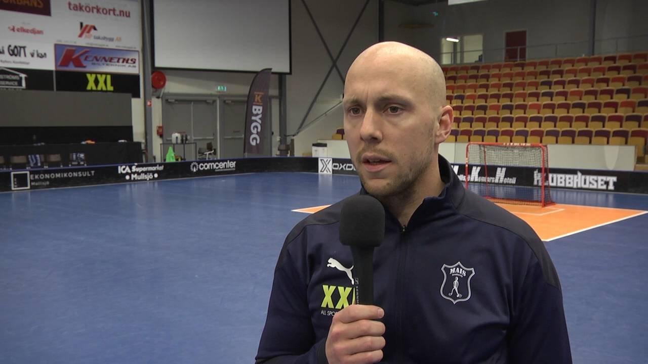 Alexander Bergström summerar matchen mot Pixbo