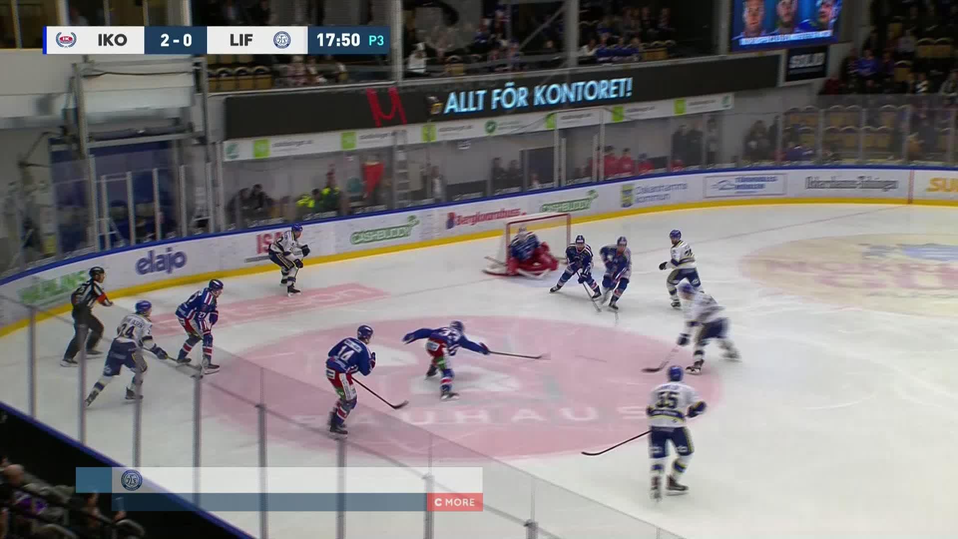IK Oskarshamn - Leksands IF 2-1