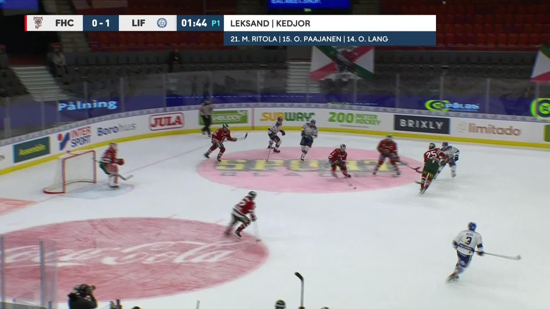 Frölunda HC - Leksands IF 1-1
