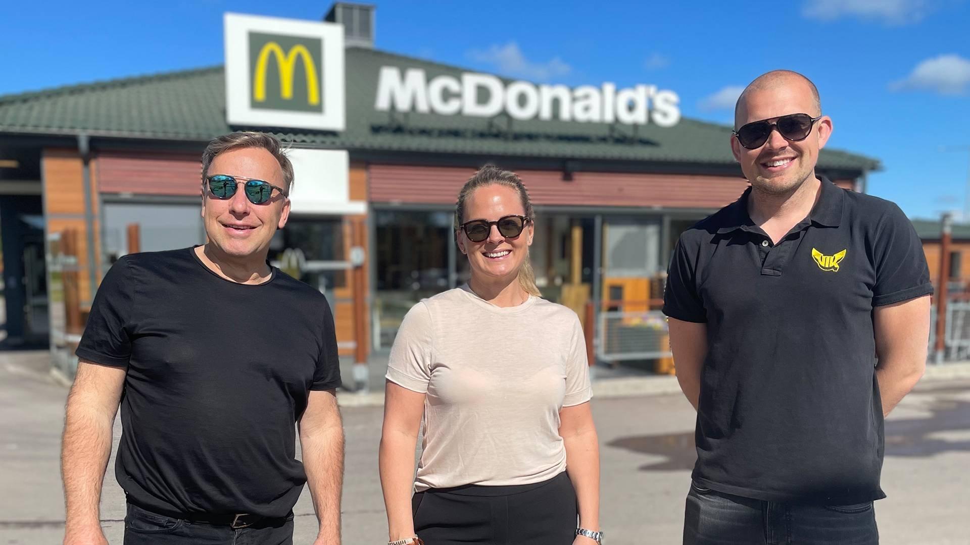 McDonald's blir ny Diamantpartner