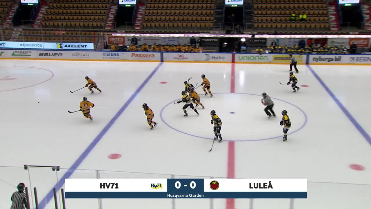 Highlights: HV71-Luleå 12 sept