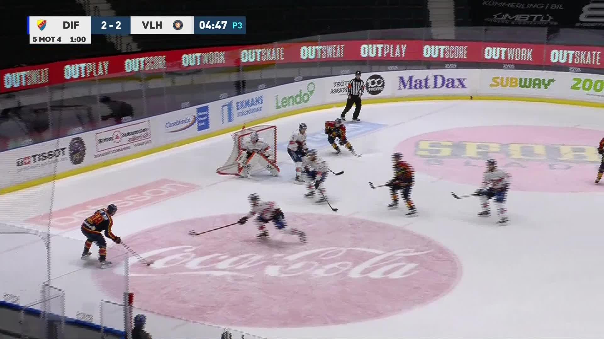 Djurgården Hockey - Växjö Lakers 3-2