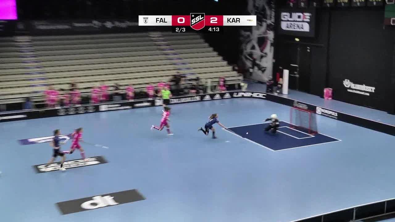 Highlights från matchen mot IBF Falun