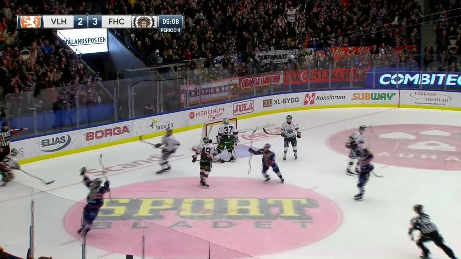 Växjö Lakers - Frölunda HC 3-3