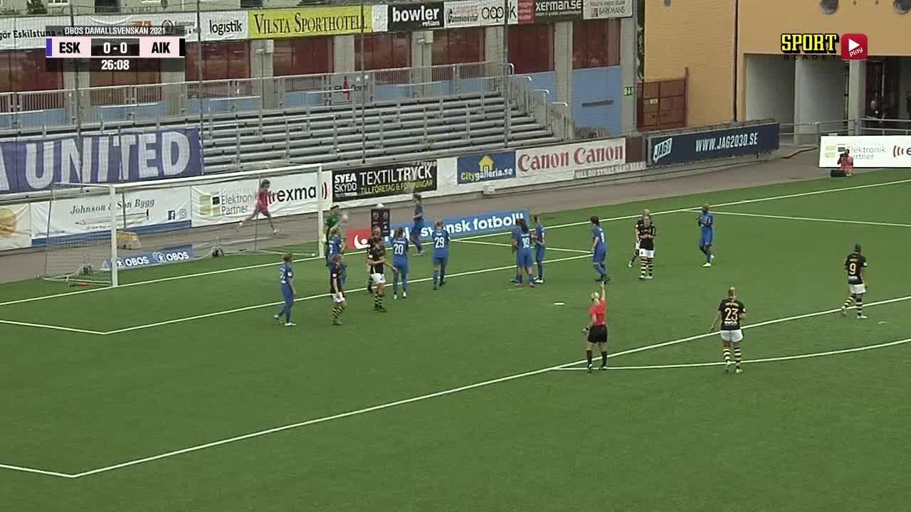 Highlights: Eskilstuna-AIK
