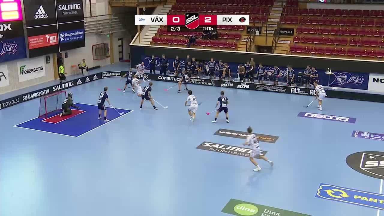 Highlights: Växjö Vipers - Pixbo Wallenstam IBK
