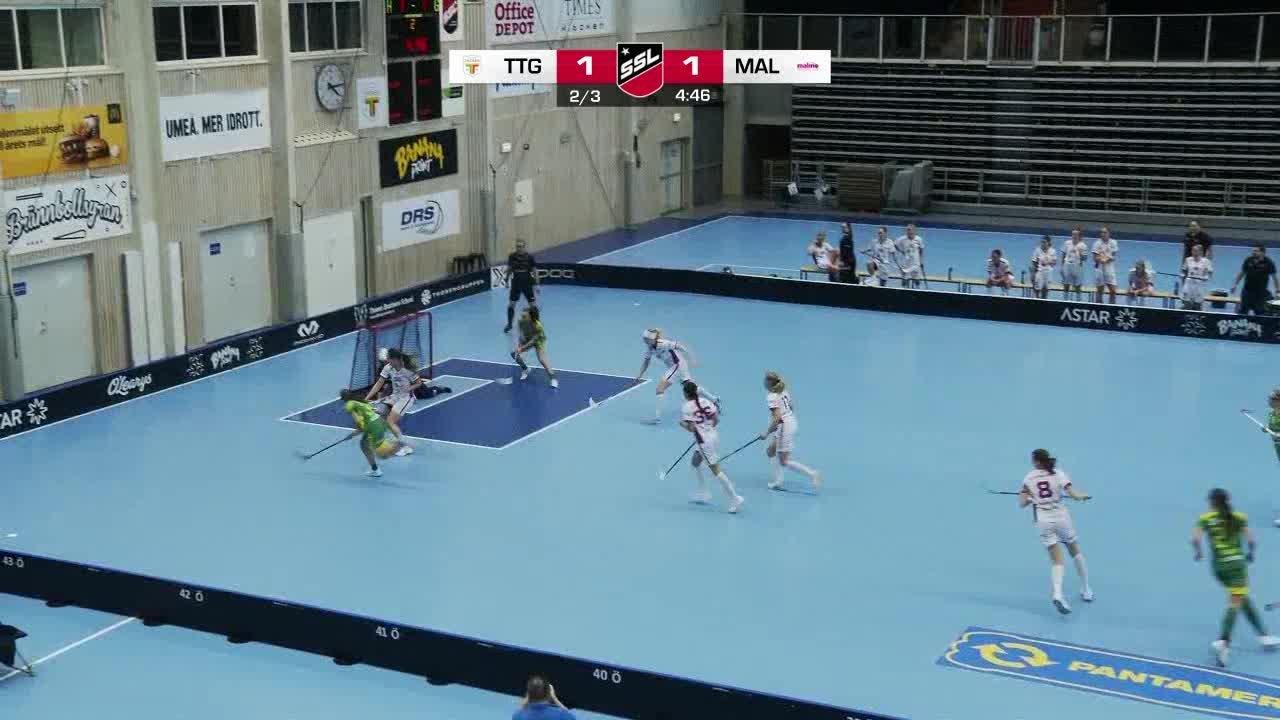 Highlights: Team Thorengruppen - Malmö FBC