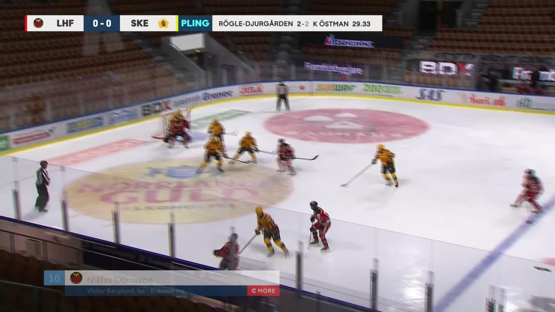 Luleå Hockey - Skellefteå AIK 1-0