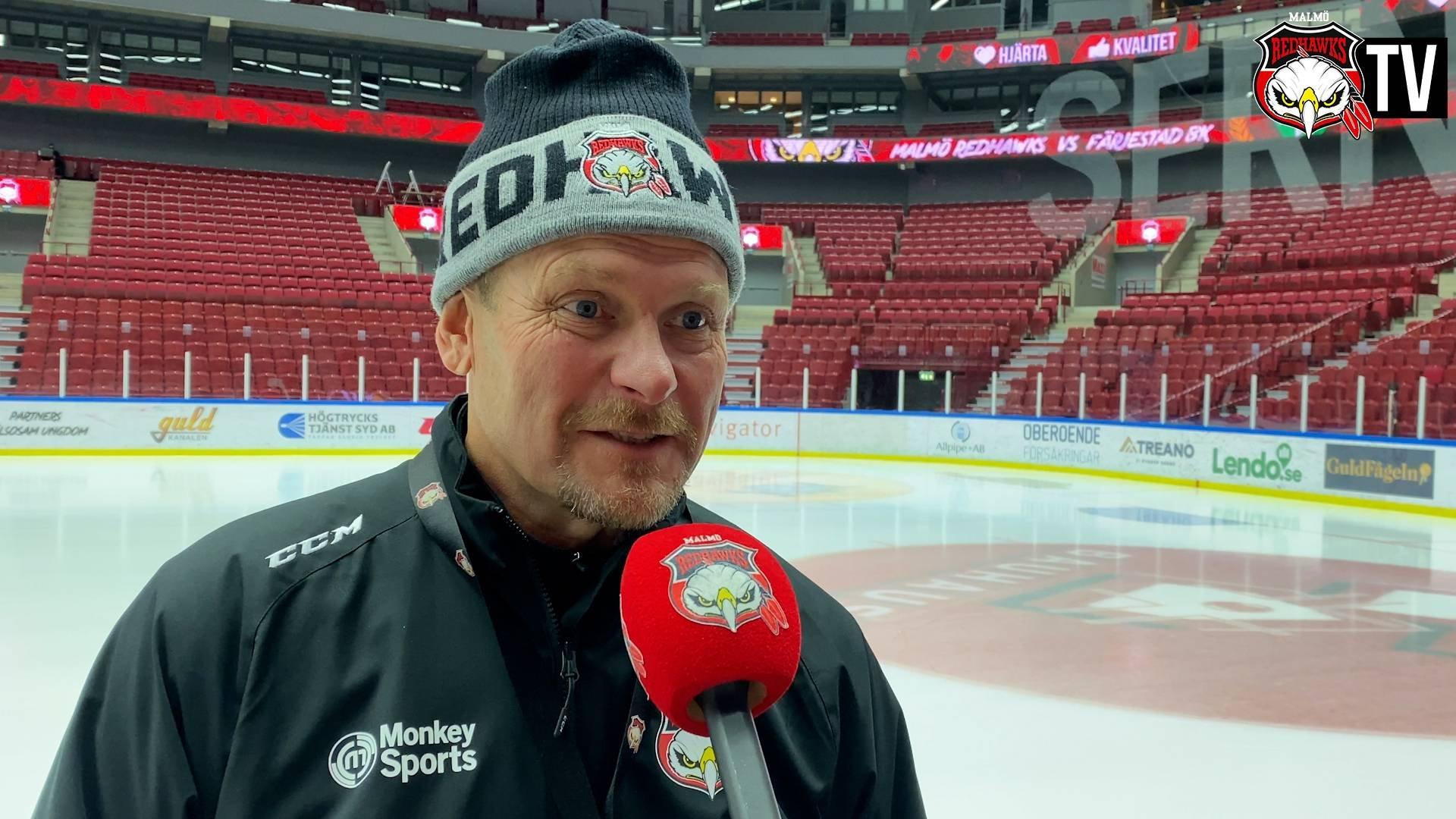 TV: Fagervall inför säsongens första hemmamatch