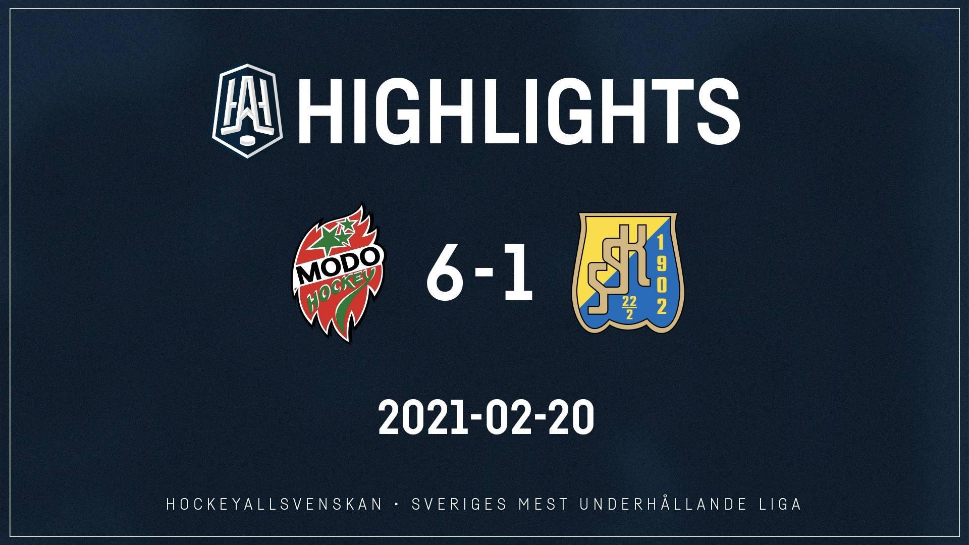 2021-02-20 MODO - Västerås 6-1